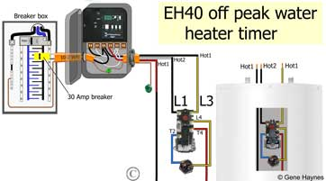water heater timer wiring diagram domestic lighting uk schematic how to wire eh10 eh40 wh40 wh21 macanical larger image