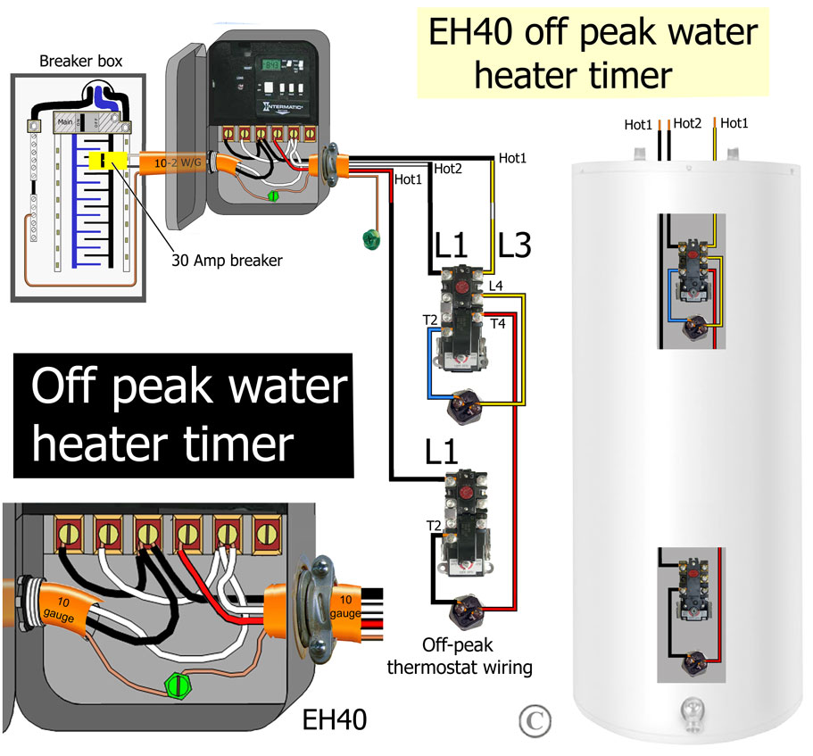 water heater timer wiring diagram 96 jeep cherokee ignition how to wire wh40 larger image off peak