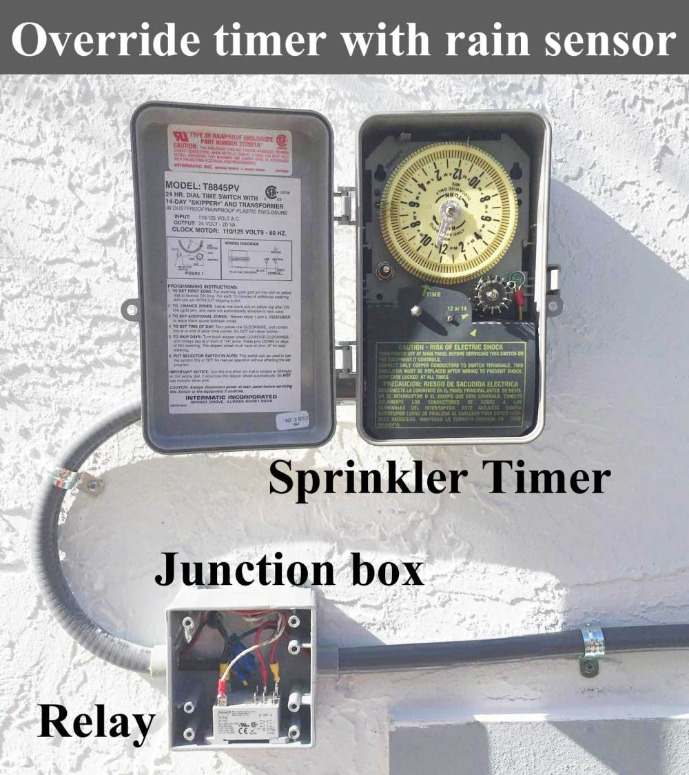 medium resolution of override sprinkler timer with rain sensor larger image