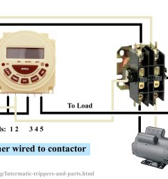 larger image connect modular timer to contactor pb series battery operated pool spa timer 7 programs 7 day 0r 24 hour 120v or 240v spdt no nc [ 2126 x 1254 Pixel ]