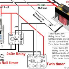 Contactor And Overload Wiring Diagram Creating A Web Is Tool For Delay Timer Motor Or Pump 120volt To 240volt Use Terminals Connect The Smaller Wires Prevent Loose Connection Risk Of Fire Do Not Put Two Different Gauge Under Screw