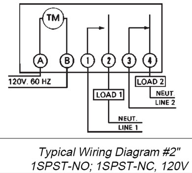 SOLVED: Need wiring diagram SPST power to timer timer to