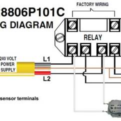 110 Volt Wiring Diagram 2 Way Electrical Switch How To Wire Intermatic Sprinkler And Irrigation Timers Manuals R8806p101c Timer