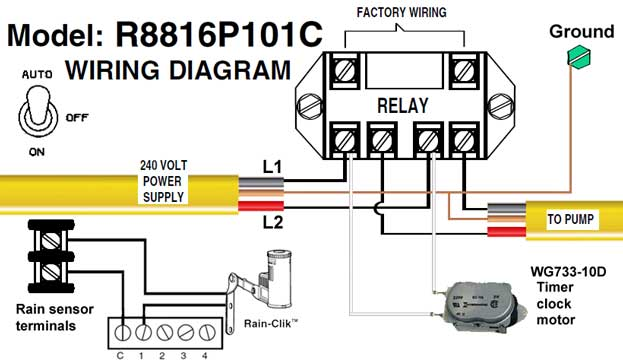 intermatic sprinkler timer wiring diagram taco how to wire and irrigation timers manuals r8816p101c