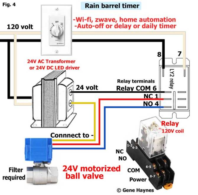 how to wire 3wire motorized ball valve