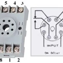 14 Pin Relay Socket Wiring Diagram Double Light Switch Uk Base Great Installation Of How To Wire Timers Rh Waterheatertimer Org 5