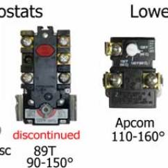 Thermodisc Wiring Diagram Fog Lights With Relay How To Wire Water Heater Thermostats Upper And Lower
