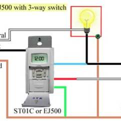 Electrical Switch Wiring Diagram Mercury 225 Optimax How To Program And Install St01c Timer