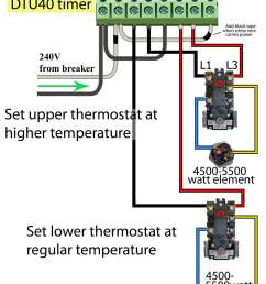 240 volt use timer for two different temperatures on electric water heater  [ 1072 x 1400 Pixel ]