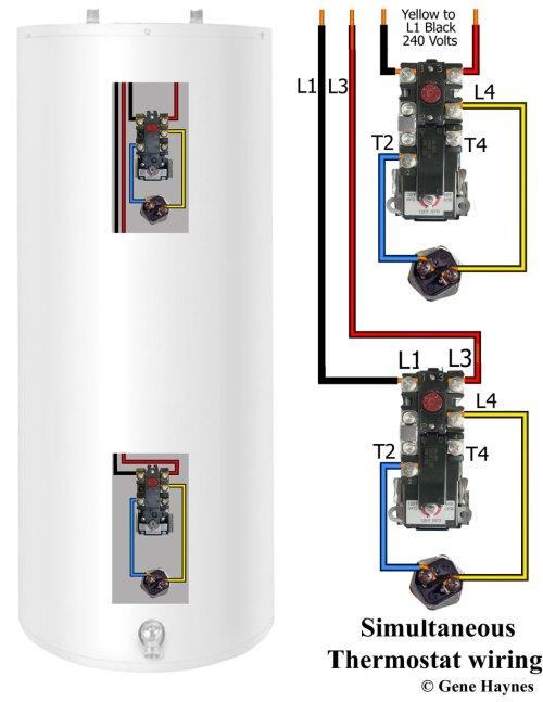 small resolution of 9000 watt water heater water heater wiring simultaneous operation
