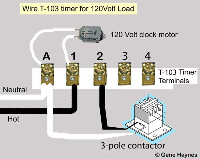 110 volt wiring diagram pricol oil pressure gauge how to wire t103 timer larger image