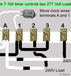 larger image t 104 two 277 volt loads move motor leads to terminals a and 1 add jumper from terminal 1 to terminal 3 [ 1043 x 800 Pixel ]