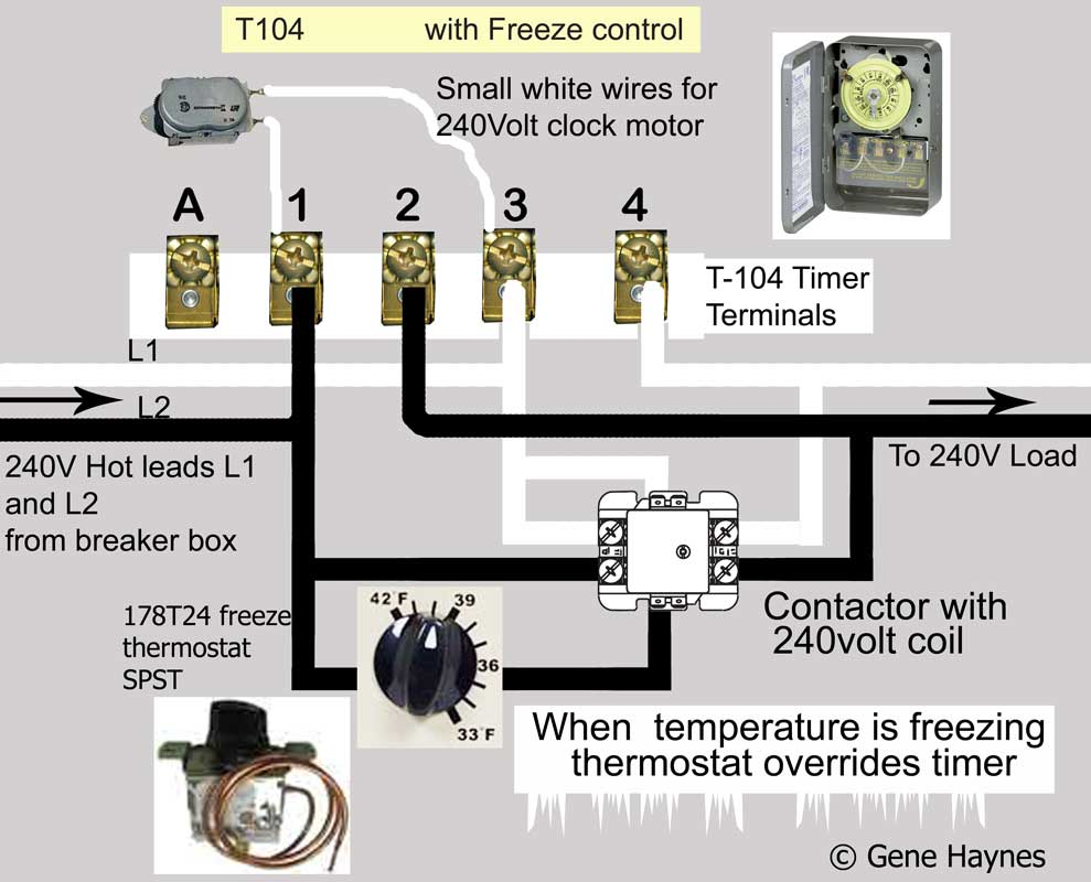 hight resolution of how to wire intermatic t104 and t103 and t101 timers 240 volt timer wiring diagram
