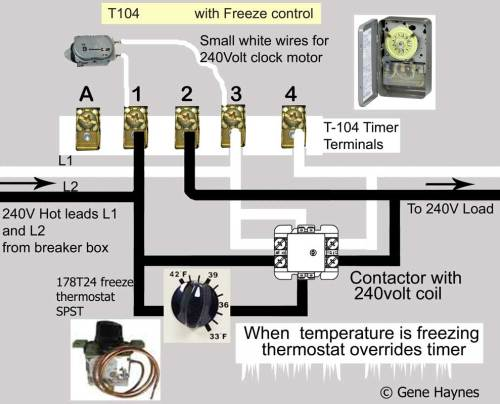 small resolution of how to wire intermatic t104 and t103 and t101 timers 240 volt timer wiring diagram
