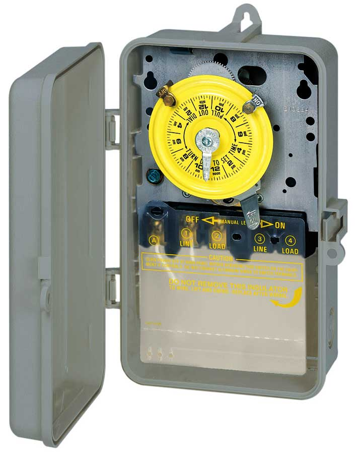 Intermatic Timer 240 Volt Wiring