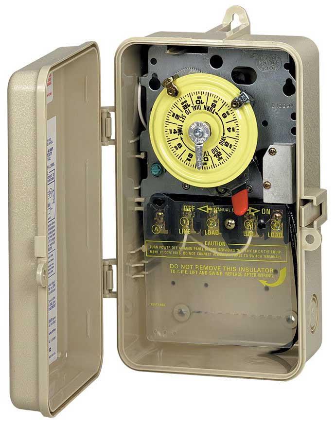 120v Intermatic Timer Wiring Diagram