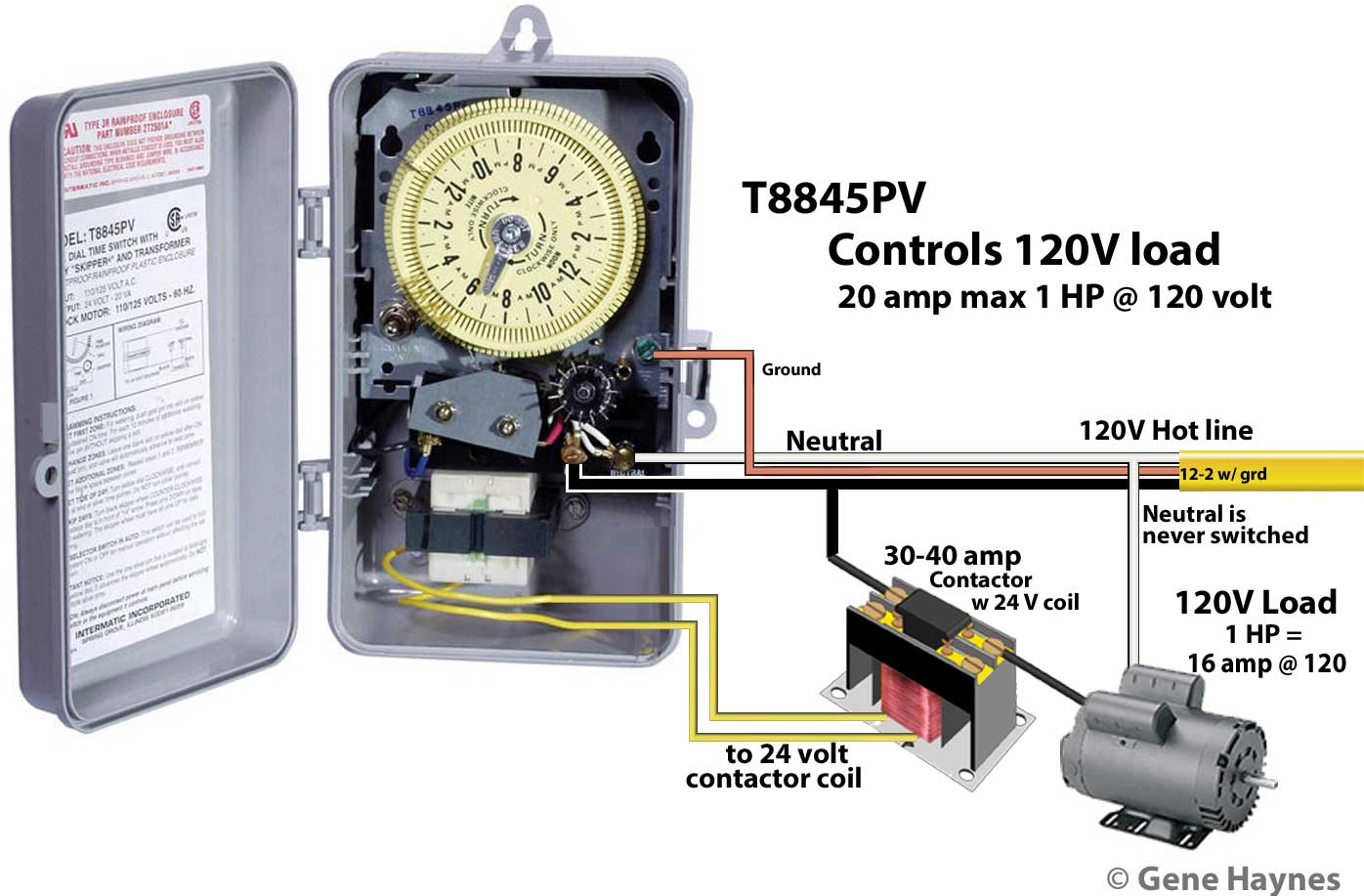 110 volt wiring diagram bulldog security rs82 how to wire intermatic sprinkler and irrigation timers manuals larger image