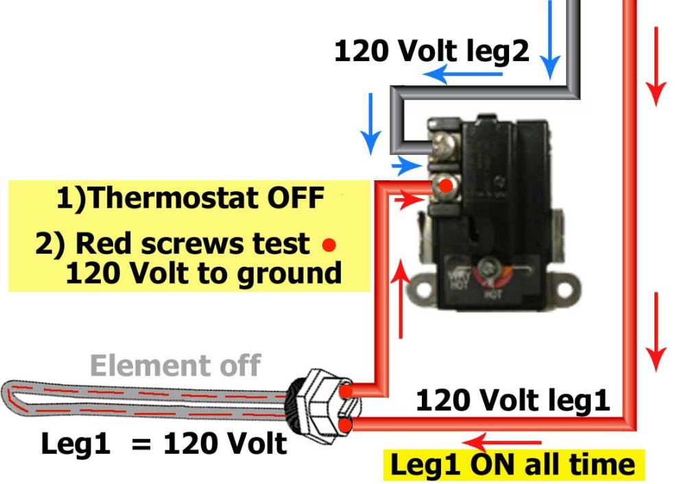 medium resolution of water heater element tests 120 volts larger image
