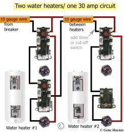 reduntant thermostats two water heaters larger image  [ 1200 x 1265 Pixel ]