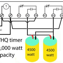 Electric Geyser Wiring Diagram Solar Hot Water System How To Wire Heater Thermostats Whq Timer