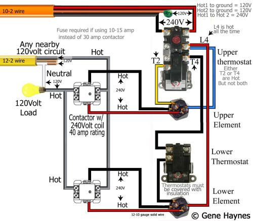 small resolution of how to wire water heater pilot light pilot light switch wiring diagram larger image 120 volt pilot light contactor or relay with 240 volt coil is needed