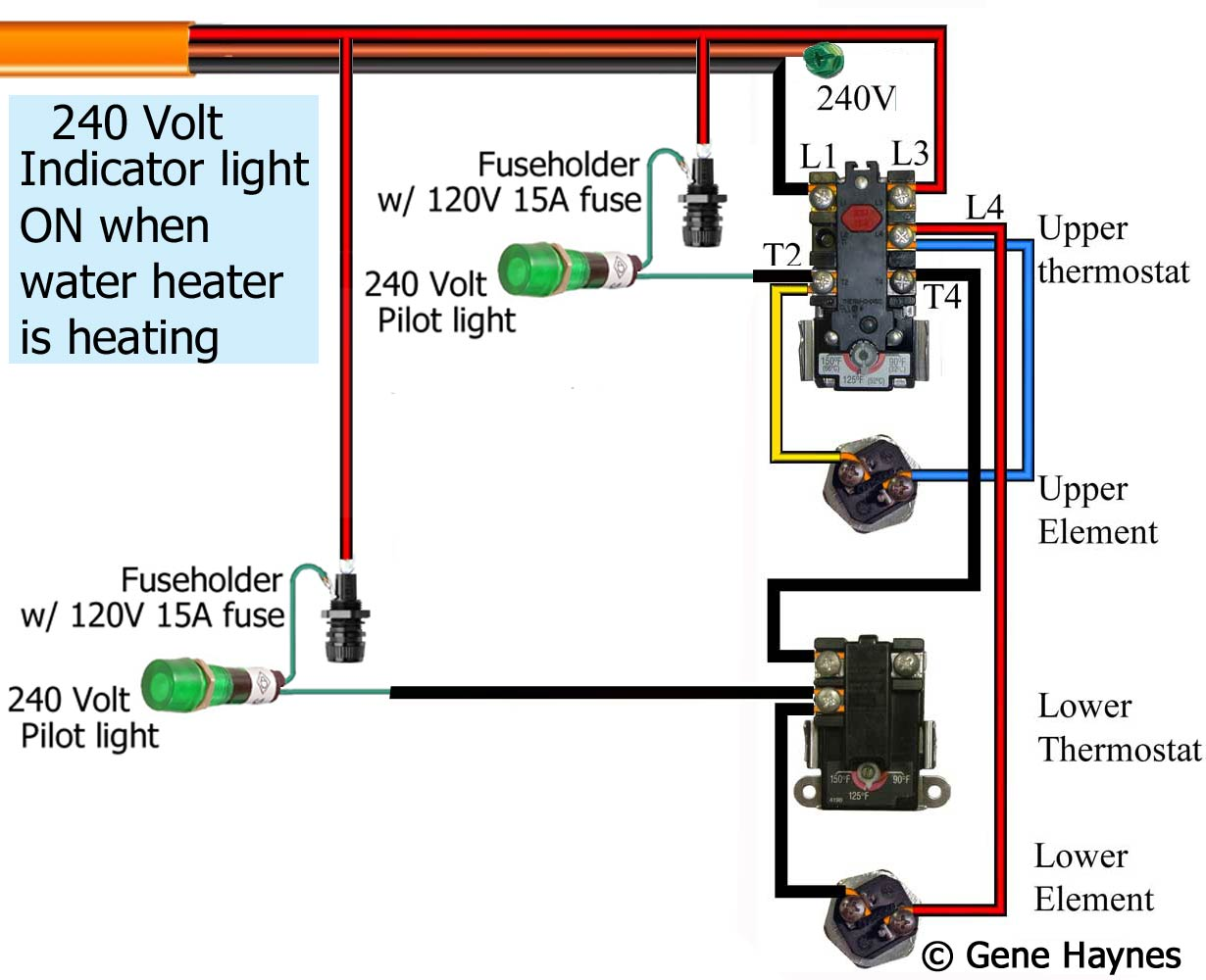 hight resolution of how to wire water heater pilot light push button pilot light wiring diagram larger image