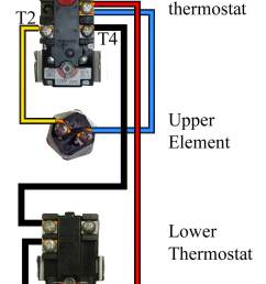 how to wire water heater for 120 volts hot water tank thermostat wiring hot water tank wiring diagram [ 952 x 1799 Pixel ]