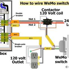 Contactor And Overload Wiring Diagram 2000 Jeep Grand Cherokee Stereo Delay Timer For Motor Or Pump 120volt To 240volt Do Not Use Stranded Wire Under Screw Plates Buy From My Affiliate Links Wemo Switch With 120 Volt Coil