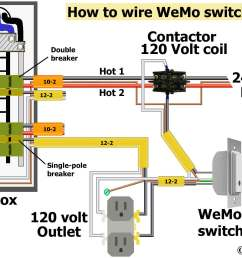 larger image how to wire wemo switch hardwire do not use stranded wire under screw plates buy wemo switch contactor with 120 volt coil [ 2034 x 1328 Pixel ]