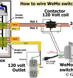 how to wire wemo switch same as above except using extension cord instead of hardwire 120 volt outlet has hot and neutral wires as illustrated 3 prong  [ 2034 x 1328 Pixel ]
