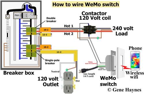 small resolution of  how to wire wemo switch same as above except using extension cord instead of hardwire 120 volt outlet has hot and neutral wires as illustrated 3 prong