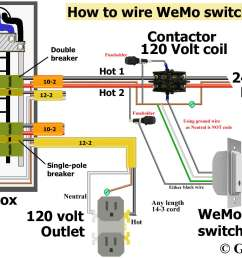 wiring for switch and contactor coil wiring diagram source hvac contactor relay wiring diagram control 240 [ 2034 x 1328 Pixel ]