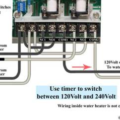 110 Volt House Wiring Diagram Pin 7 Arduino How To Wire Water Heater For 120 Volts Ge Timer 240