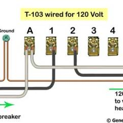 110 Volt Wiring Diagram Spotlight Nissan Patrol How To Wire T103 Timer T 103 120