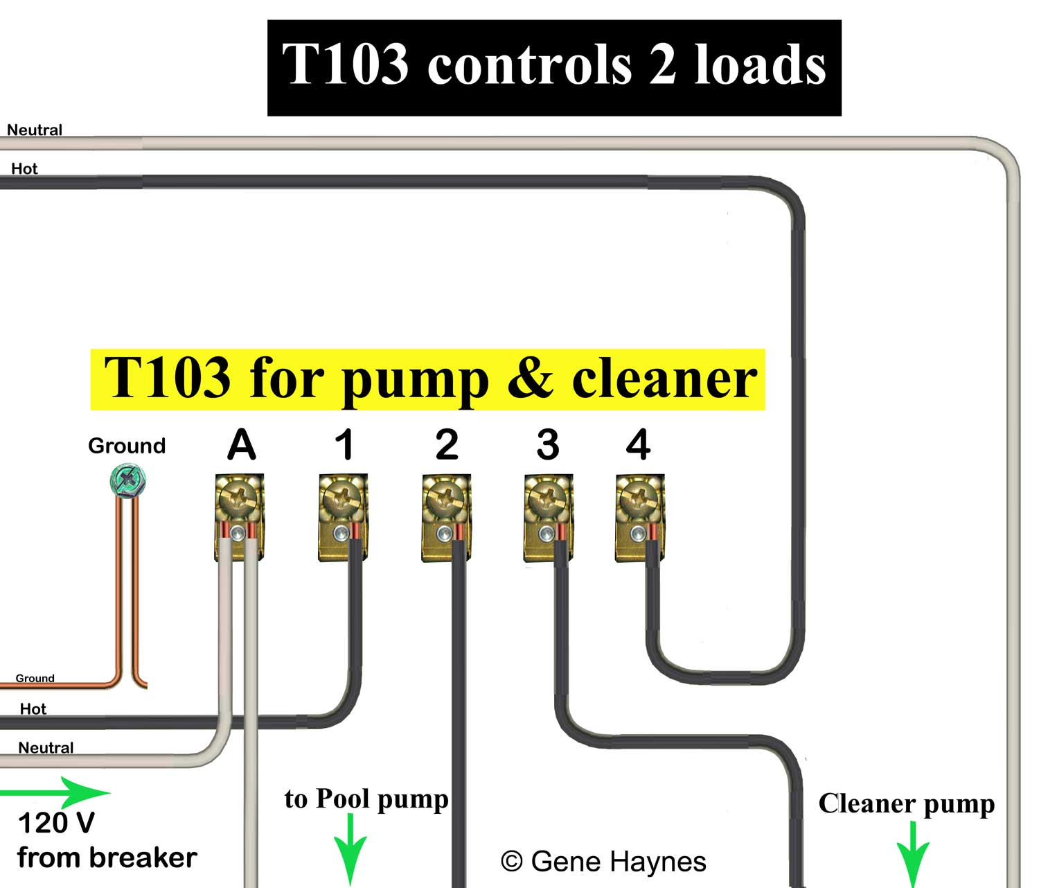 110 volt wiring diagram bazooka bta8100 how to wire t103 timer larger image
