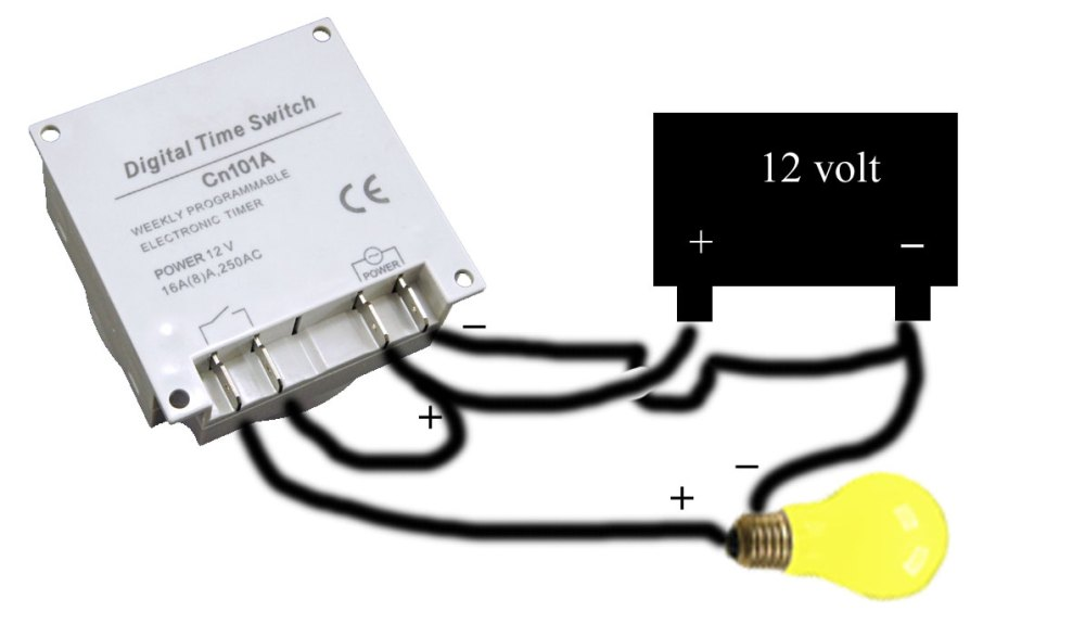 medium resolution of cn timer dc voltage wiring illustration