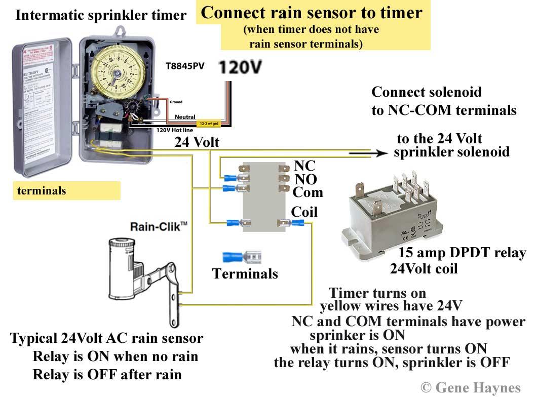intermatic sprinkler timer wiring diagram pt cruiser speaker how to wire and irrigation timers manuals see all larger image