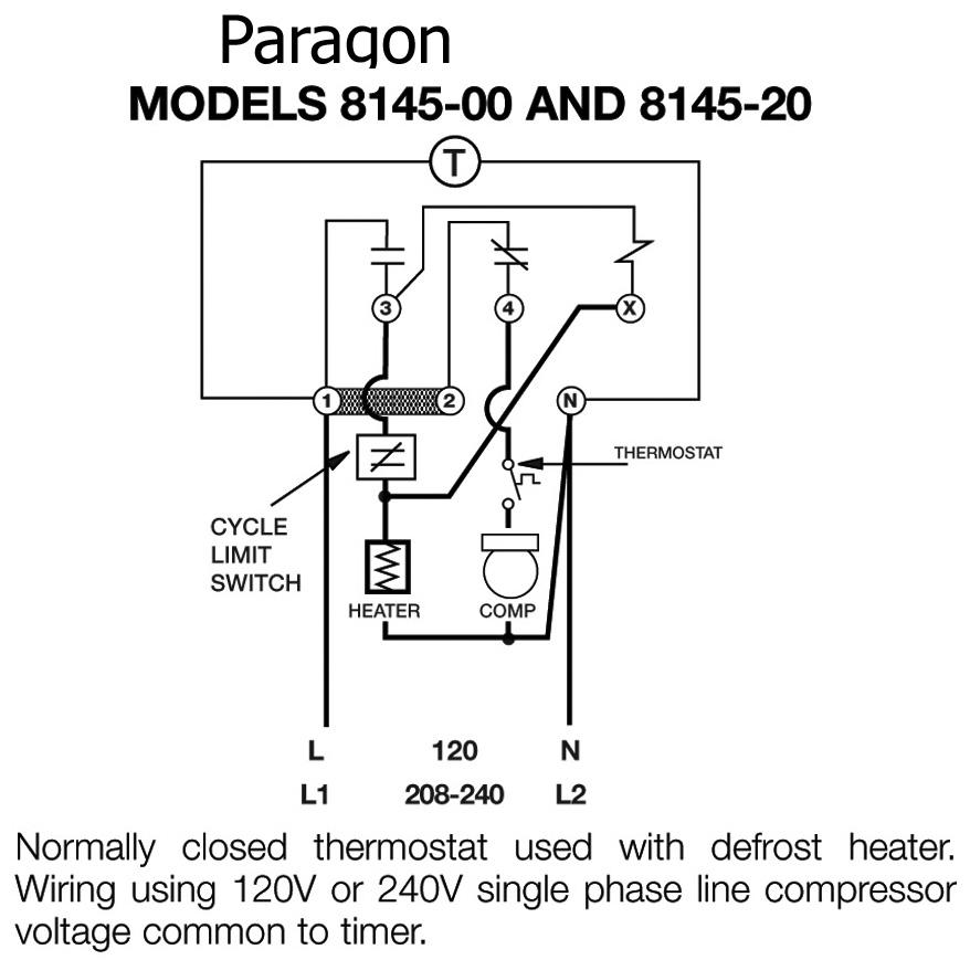 Timer Wiring Diagram