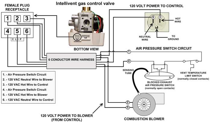 smart vent wiring diagram | themood.us smart vent wiring diagram hot water heater power vent wiring diagram