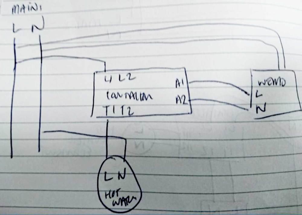 medium resolution of wire 3 pole contacto