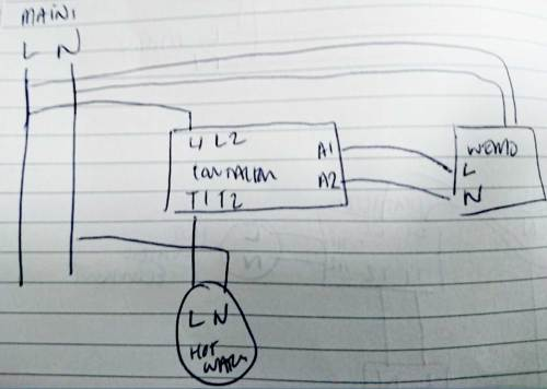 small resolution of wire 3 pole contacto