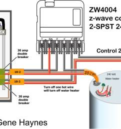 turn off each load by turning off 1 hot wire on each circuit select 240volt operation choose 2xspst to operate each water heater with different schedule [ 2216 x 1377 Pixel ]