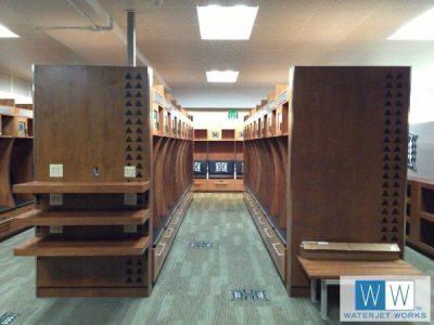 University of Hawaii Locker Room