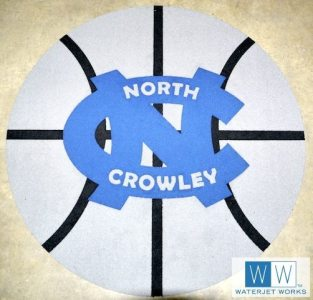North Crowley High School Basketball Logo