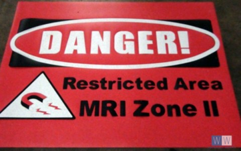2017 Danger - Restricted Area Sign