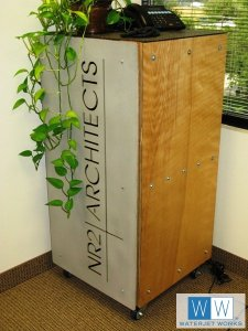 NR2 Architects Display Box in Aluminum