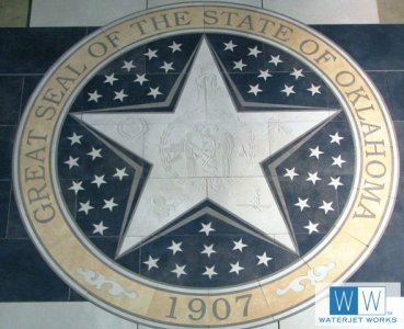2010 Woodward County Oklahoma Seal