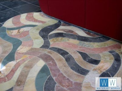 Artist Pamela Nelson Creates Floor Art