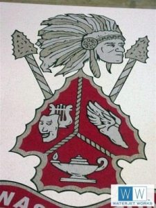 2004 Washington Warriors High School Logo