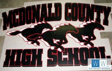2010 McDonald County High School Logo